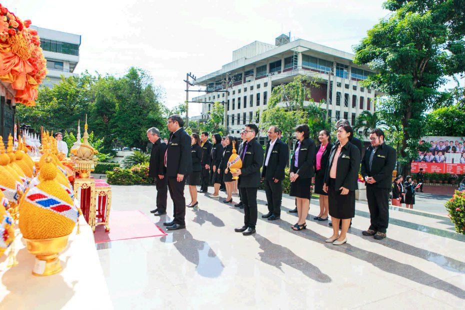 """สำนักพัฒนาเทคนิคศึกษา ร่วมพิธีถวายราชสักการะ """"พระบิดาแห่งวิทยาศาสตร์ไทย"""""""
