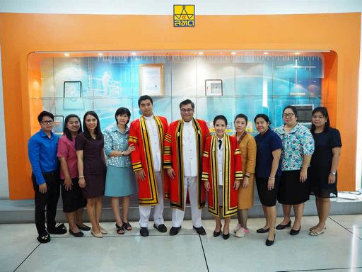บุคลากรสำนักพัฒนาเทคนิคศึกษา สำเร็จการศึกษาระดับปริญญาโท ประจำปีการศึกษา 2560
