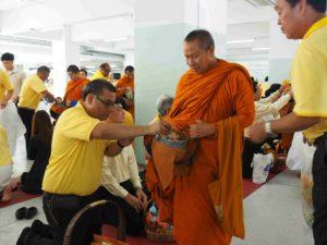 ผู้บริหารและบุคลากร ITED ร่วมงานส่งเสริมพระพุทธศาสนาวิสาขบูชา 2562